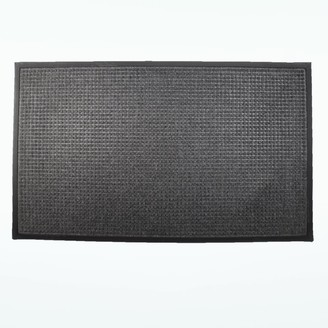 Rhino Mats 102 Town N Coutry Entrance Mat 4' X 6' Charcoal