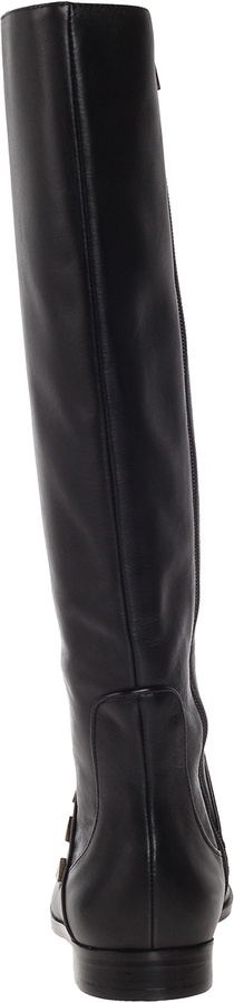 House Of Harlow Billy Boot Black Calf