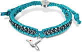 Sho London Hummingbird Friendship Silk Bracelet