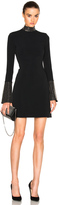 David Koma Metal Stud Collar Dress