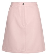 Carven Leather Miniskirt