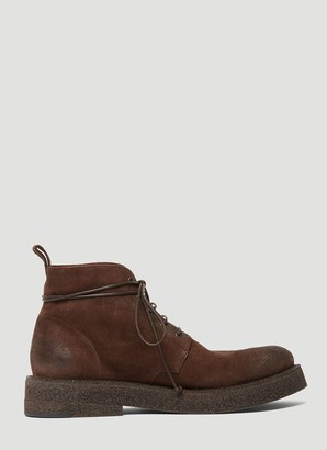 Marsèll Chunky Sole Lace-Up Boots