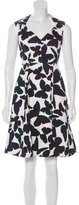 Kate Spade Butterfly Print A-Line Dress