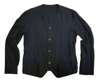 Issey Miyake Navy Linen Jackets
