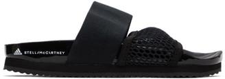 adidas by Stella McCartney Black Lette Sandals
