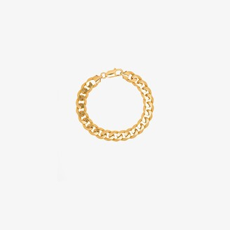 Hermina Athens gold-plated Anchor chain bracelet