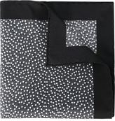 Lanvin dotted pocket square