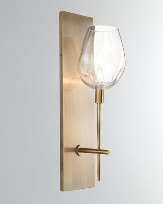 John-Richard Collection John Richard Collection Glass Globe Wall Sconce