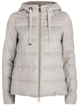 Herno Short Hooded Down Jacket
