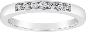 Affinity Diamond Jewelry Affinity 14K Gold Channel Set 1/5 cttw Diamond Ring