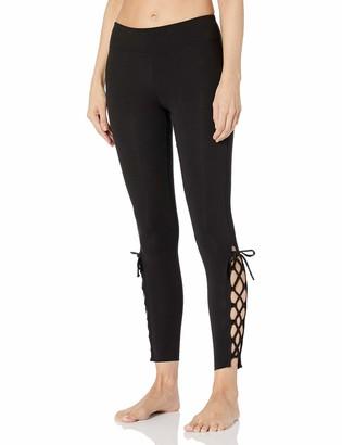 Calvin Klein Marc New York Performance Women's Long Open Lace Up Legging