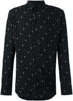 Saint Laurent matchstick print shirt