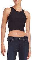 Sugar Lips Sugarlips Ribbed Cropped Tank