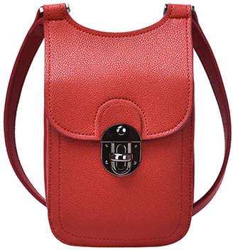 Mellow World Women's Crossbodies Maroon - Maroon Cia Cell Phone Convertible Crossbody Bag
