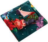 Desigual Dark Floral Towel - Set of 2 - Hand & Guest