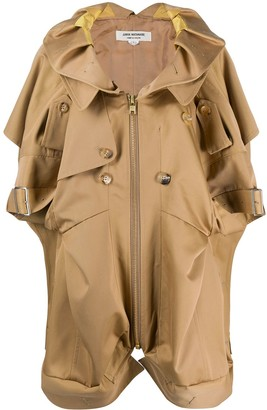 Junya Watanabe Short Sleeved Trench Coat