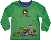 John Deere Green Front Loader Crewneck Tee - Toddler