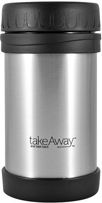 TakeAway Out Double Wall Stainless Steel Food Jar Silver 500ml