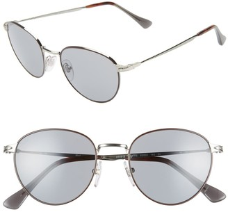Persol 52mm Round Sunglasses
