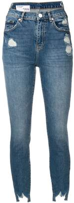 Pinko Dreamer distressed skinny jeans