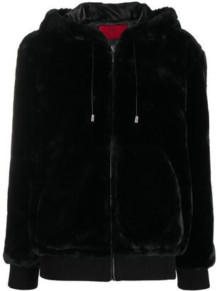 HUGO BOSS Faux Fur Jacket