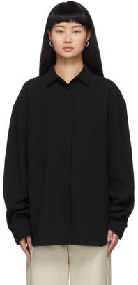 Totême Black Lago Shirt