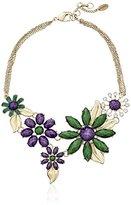 """Amrita Singh Hamptons"""" Della Floral Bib Necklace"""
