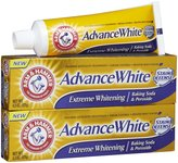 Arm & Hammer Advance White Extreme Whitening with Stain Defense Baking Soda & Peroxide Toothpaste - 4.3 oz - 2 pk