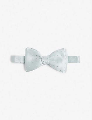 Eton Polka-dot silk bow tie