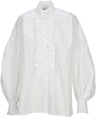 MSGM Ruffled Shirt