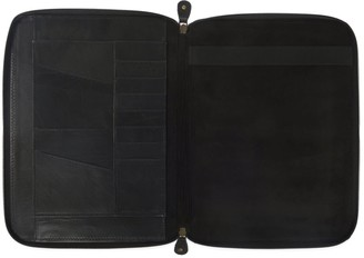 Vida Vida Classic Black Leather A4 Document Holder