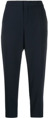 Chloé Cropped Tailored-Style Trousers