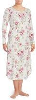 Carole Hochman Plus Floral Nightgown