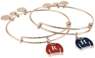 Alex and Ani Harry Potter Best Friend Set of 2 Bangle Bracelet (Shiny Rose Gold) Bracelet