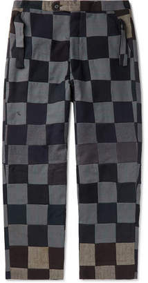 Bode Patchwork Wool Trousers