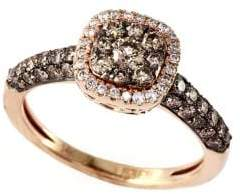 Effy Espresso 14Kt. Yellow Gold and Brown Diamond Ring