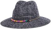 Nicole Miller Mesh Panama Hat
