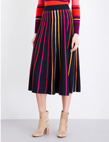 Temperley London Pano merino wool skirt