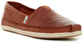 Toms Classic Leather Slip-On Sneaker