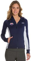 TYR USA Swimming Women's Alliance Victory Warm Up Jacket 8126165