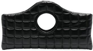 A.W.A.K.E. Mode Quilted Top-Handle Clutch Bag