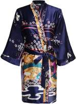 HOTOUCH Women's Kimono Robe, Short, with Pockets M