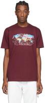 Sies Marjan Burgundy AMO Edition Logo Colorworld T-Shirt