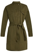 Etoile Isabel Marant Omeo cotton-gabardine tunic dress