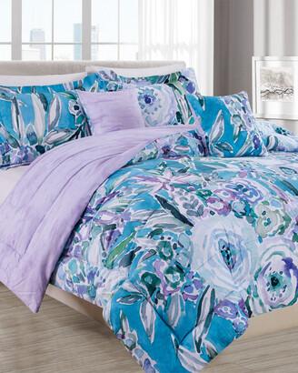 Melange Home Barbarian Maui Mindset 5Pc Comforter Set