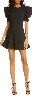 LIKELY Alia Puff Sleeve Fit & Flare Dress