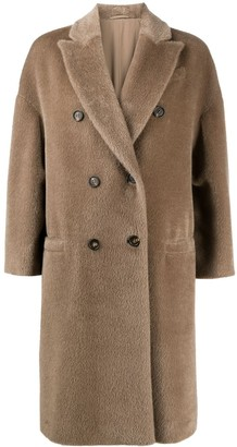 Brunello Cucinelli Fitted Double Breasted Coat