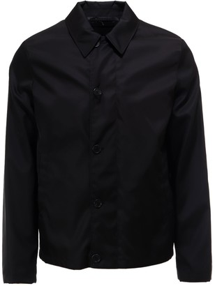 Prada Button-Up Collared Jacket