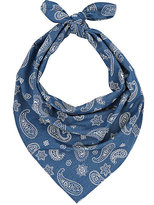 Barneys New York MEN'S PAISLEY-PRINT COTTON BANDANA