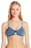 Seafolly Women's Deja Blue Bralette Bikini Top